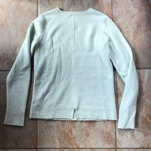 GAP 100% Cashmere Pale Mint Green Medium Tall